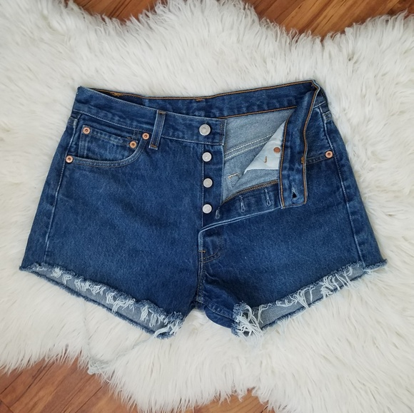 cc9d597079 Levi's Shorts | Vintage 501xx Levis High Rise Cut Off | Poshmark